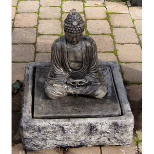 Sitting Buddha fountain for sale