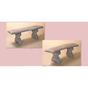 Big Silvestri Classic Benches Set, Straight and Curved