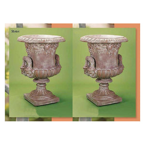 Big Sonoma Urn Set of Two, FREE SHIPPING