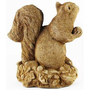 Squirrel Cement Figurines