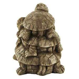 Turtles Stack Statues, 6 inches H x 4 W x 7 inches L, FREE SHIPPING
