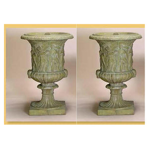 Large Vatican Urn, Set of Two, FREE SHIPPING