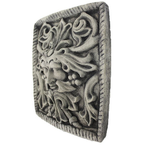 Green Man Wall Plaques Decor