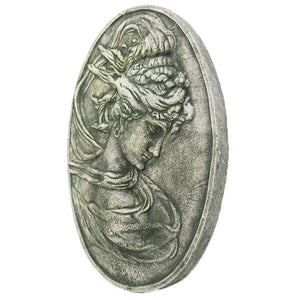 Cameo Garden Wall Plaque