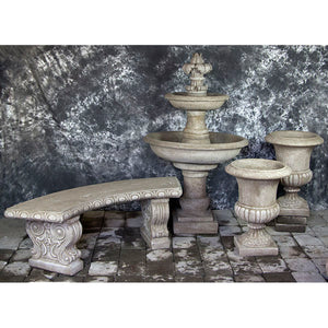 Italian Fountain with Urns