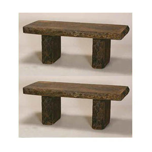 Rock garden benches for sale