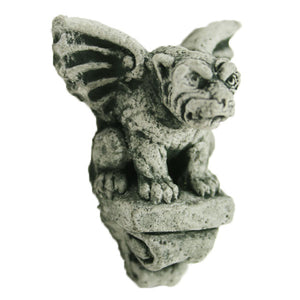 Mini Gargoyle winged Wall Plaque, 2 inches H x 2.5 inches W, FREE SHIPPING