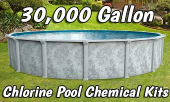 Chlorine Pool Opening Kits - 30,000 Gallons