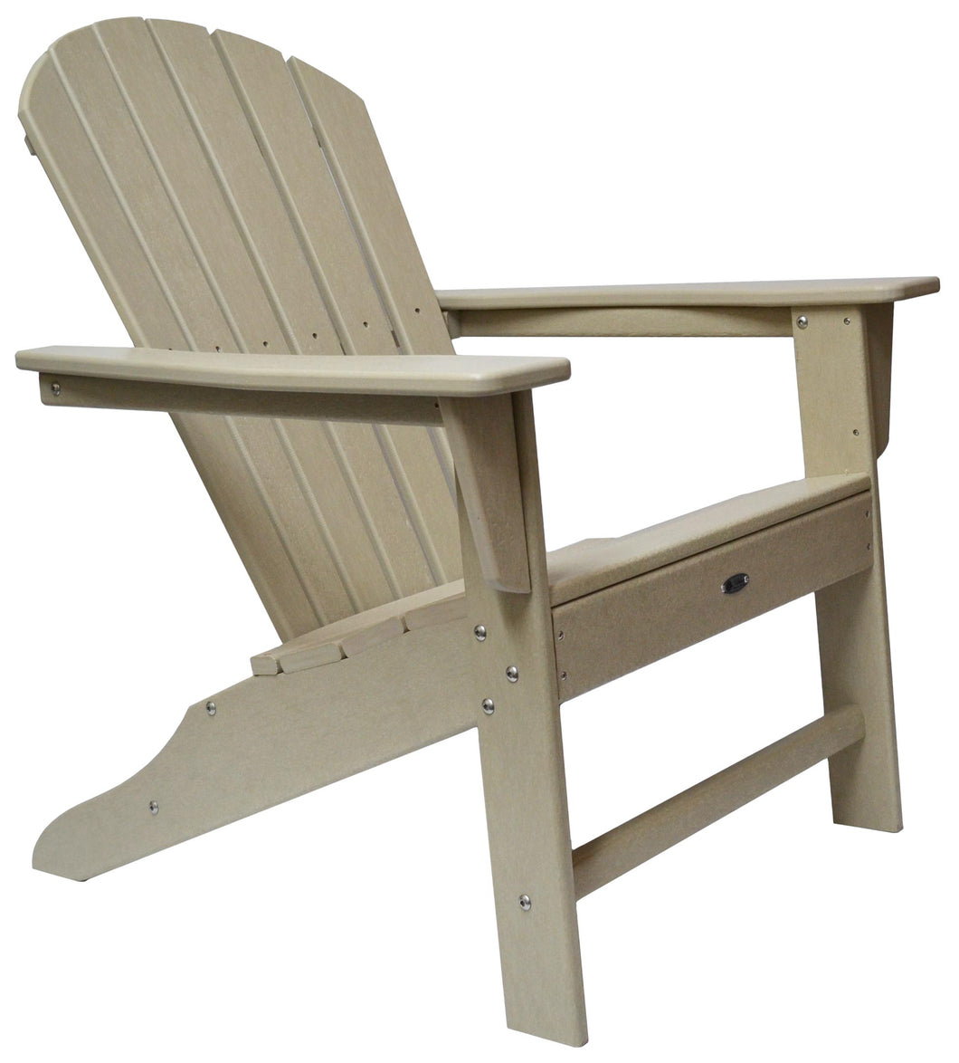 Atlas Patio Furniture - Surf City Poly Adirondack Chair - Color: Sand
