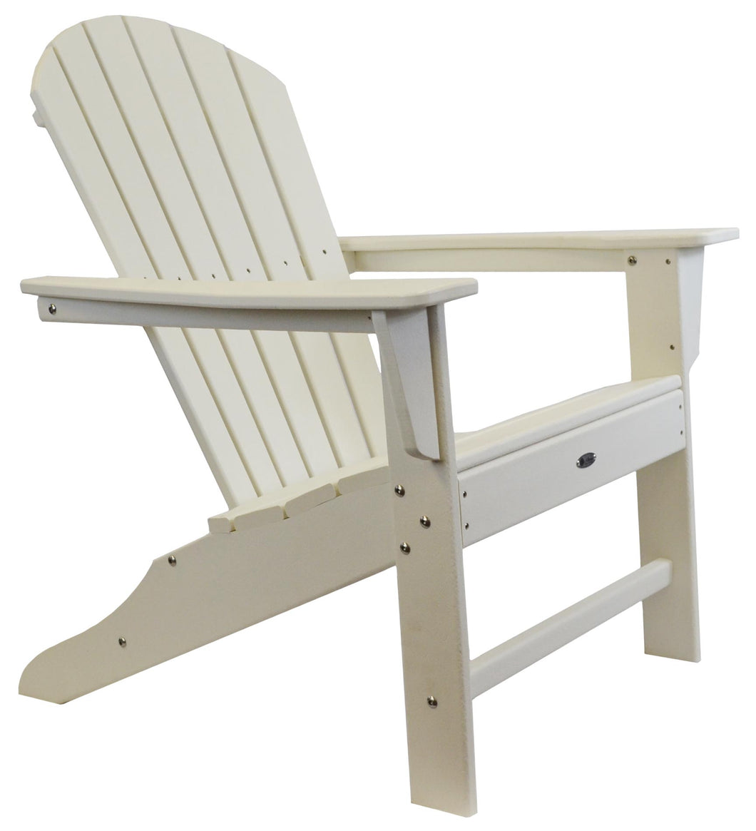 Atlas Patio Furniture - Surf City Poly Adirondack Chair - Color: White