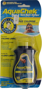 AquaChek Free Chlorine Test Strips 1 Package