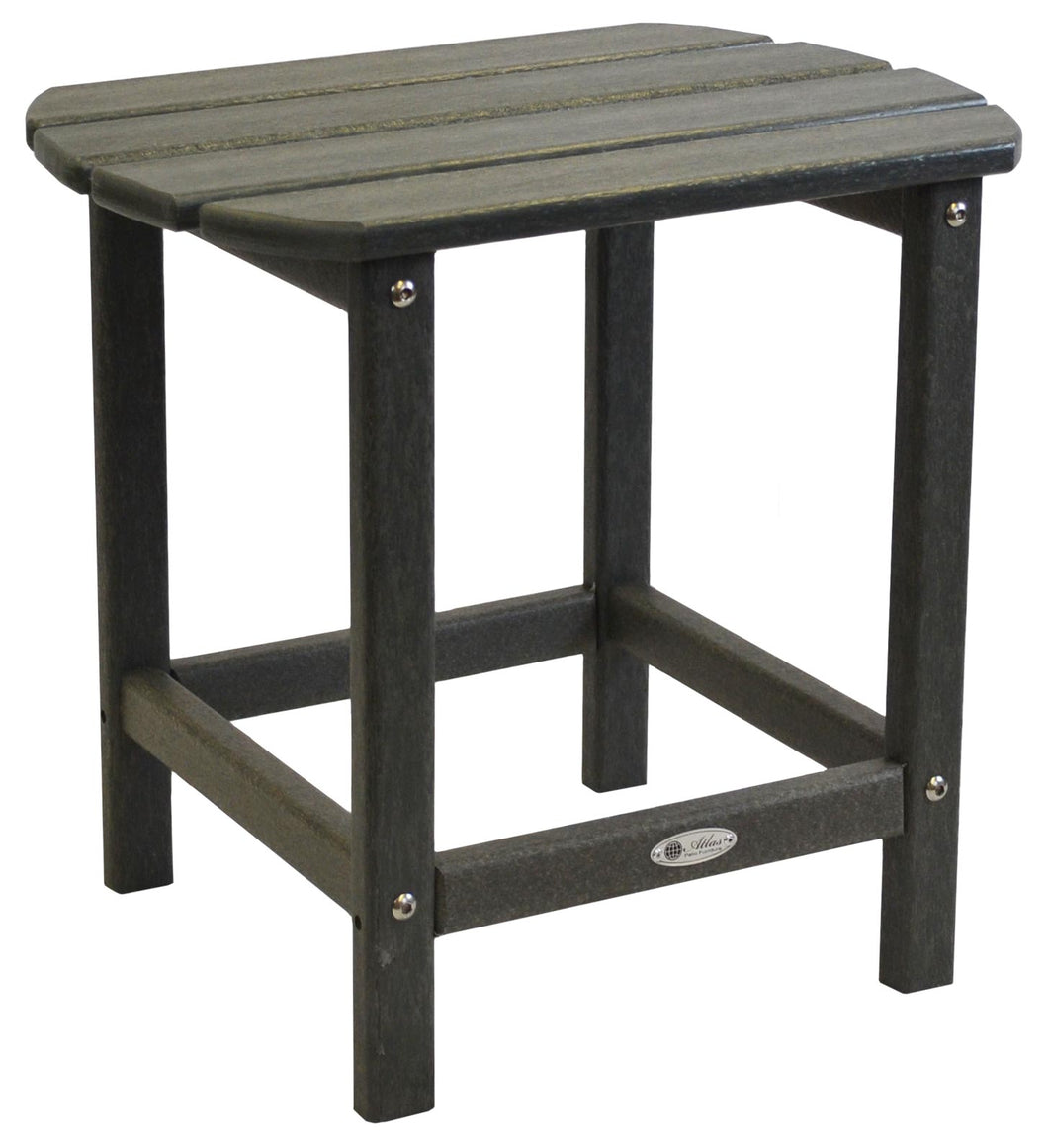 Atlas Patio Furniture - Beach Haven Poly End Table - Color: Grey
