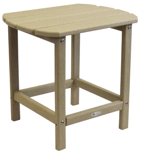 Atlas Patio Furniture - Beach Haven Poly End Table - Color: Sand