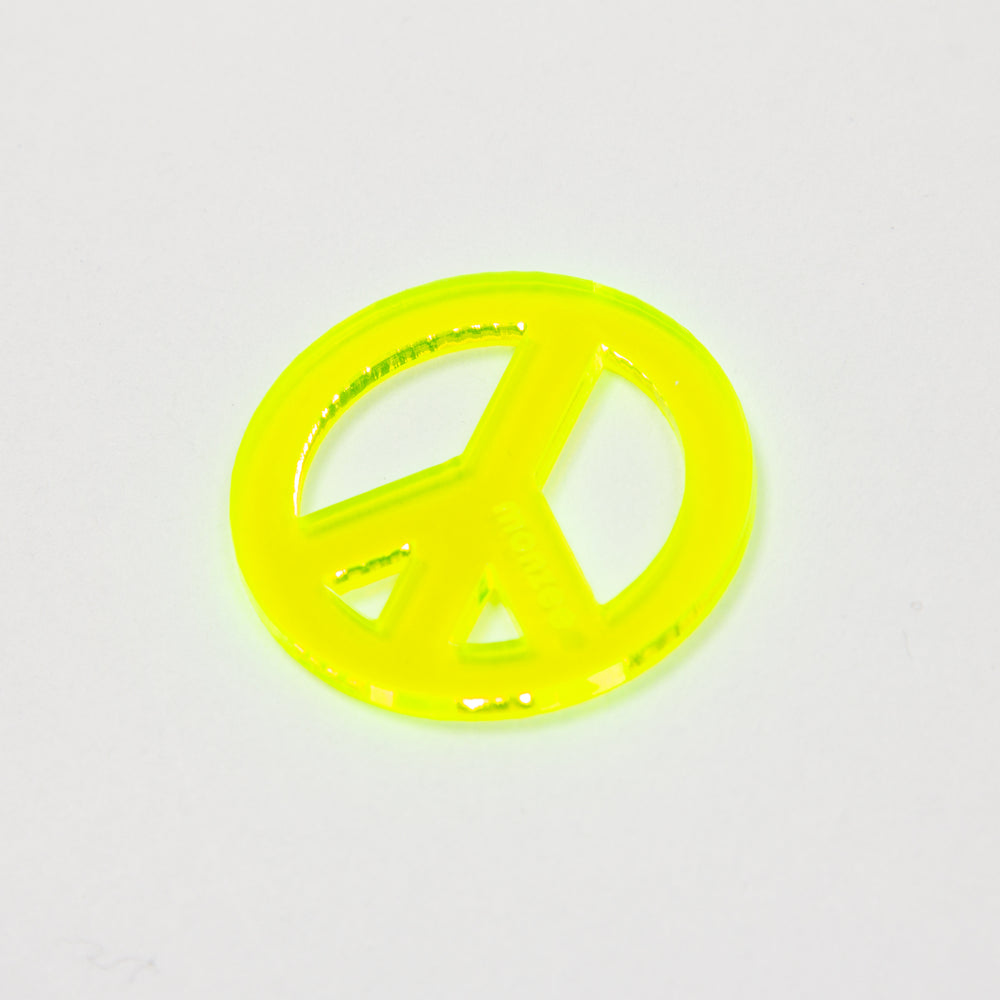 Peace Mark Yellow