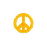 Peace Mark Orange