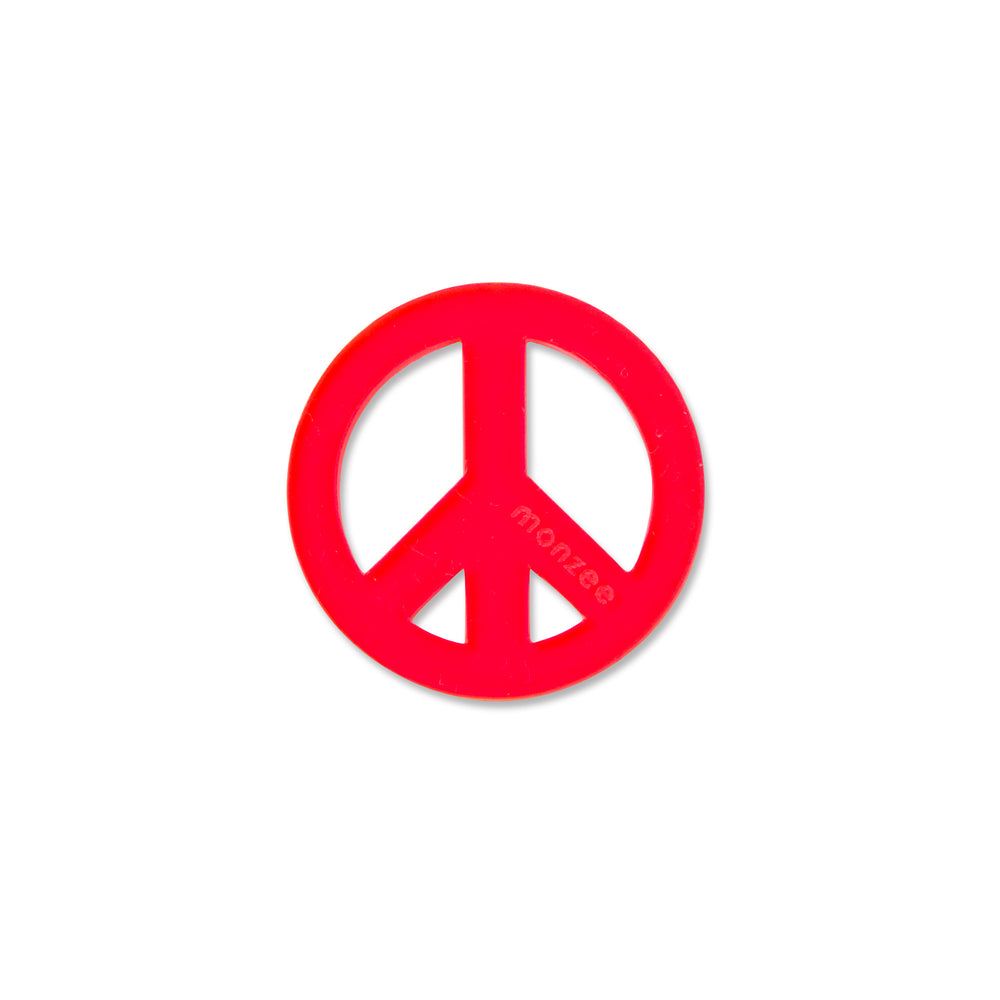 Peace Mark Red