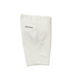 Side mesh shorts - White