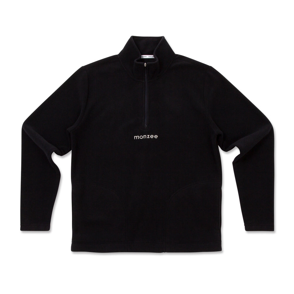 Half Zip Fleece Black
