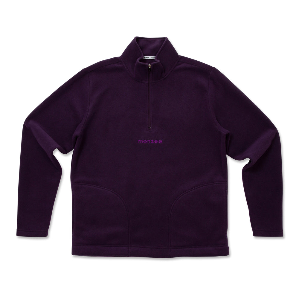 Half Zip Fleece Purple