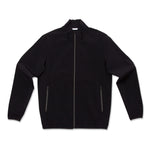 Full Zip Wind Breaker-Black