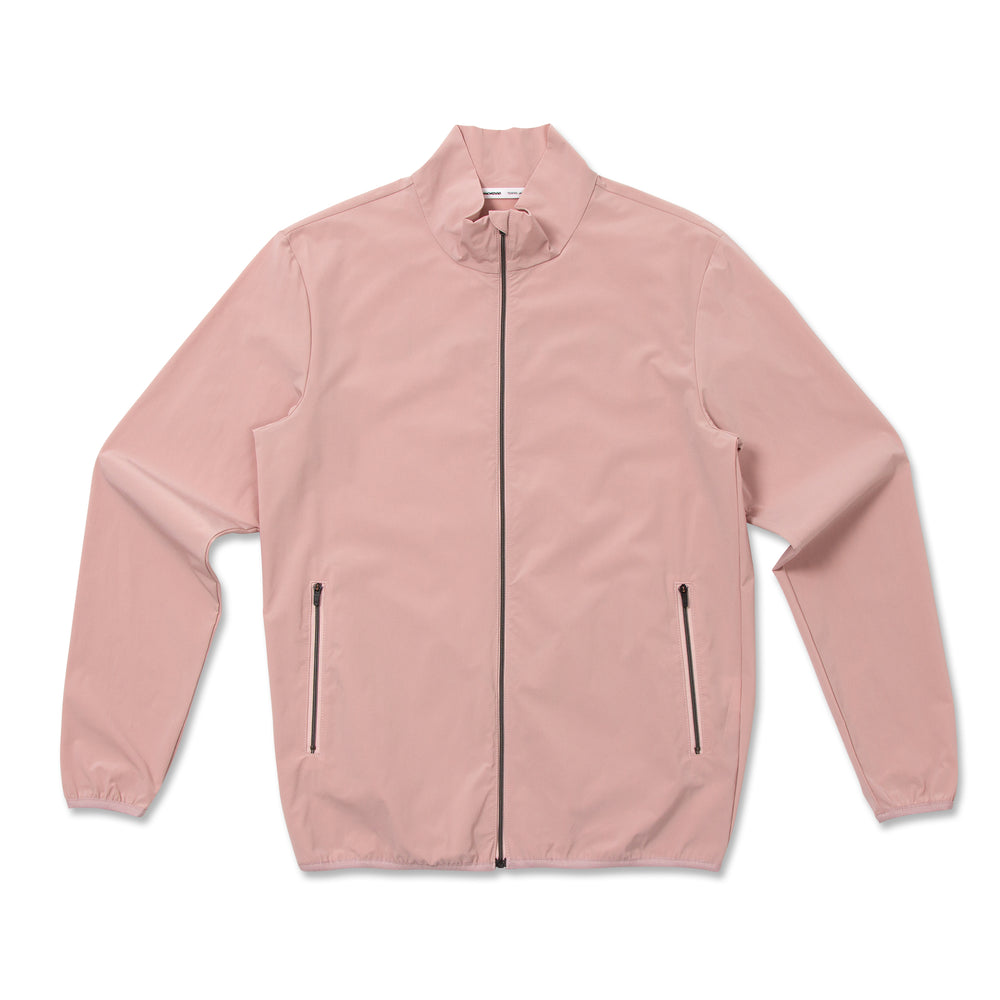 Full Zip Wind Breaker-Pink