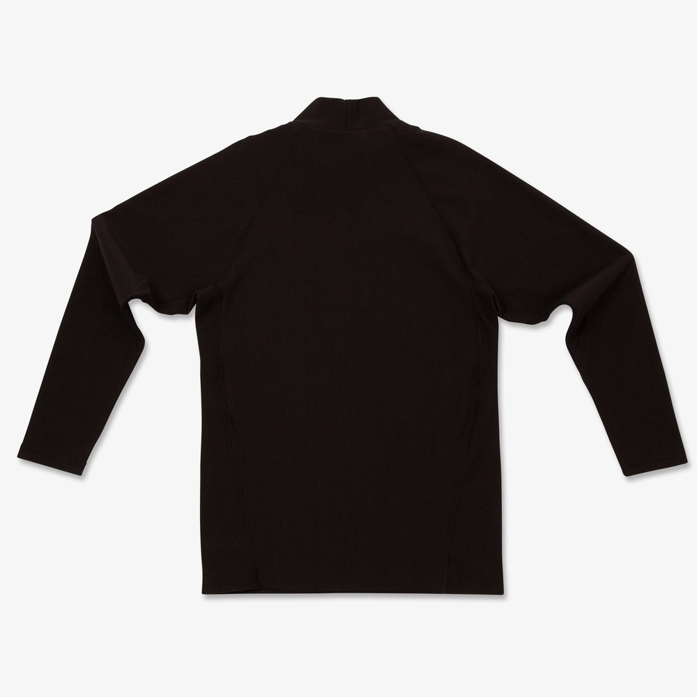 Mock Neck Long Sleeve-GRY
