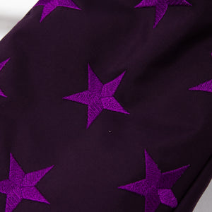 Embroidery Star - Purple