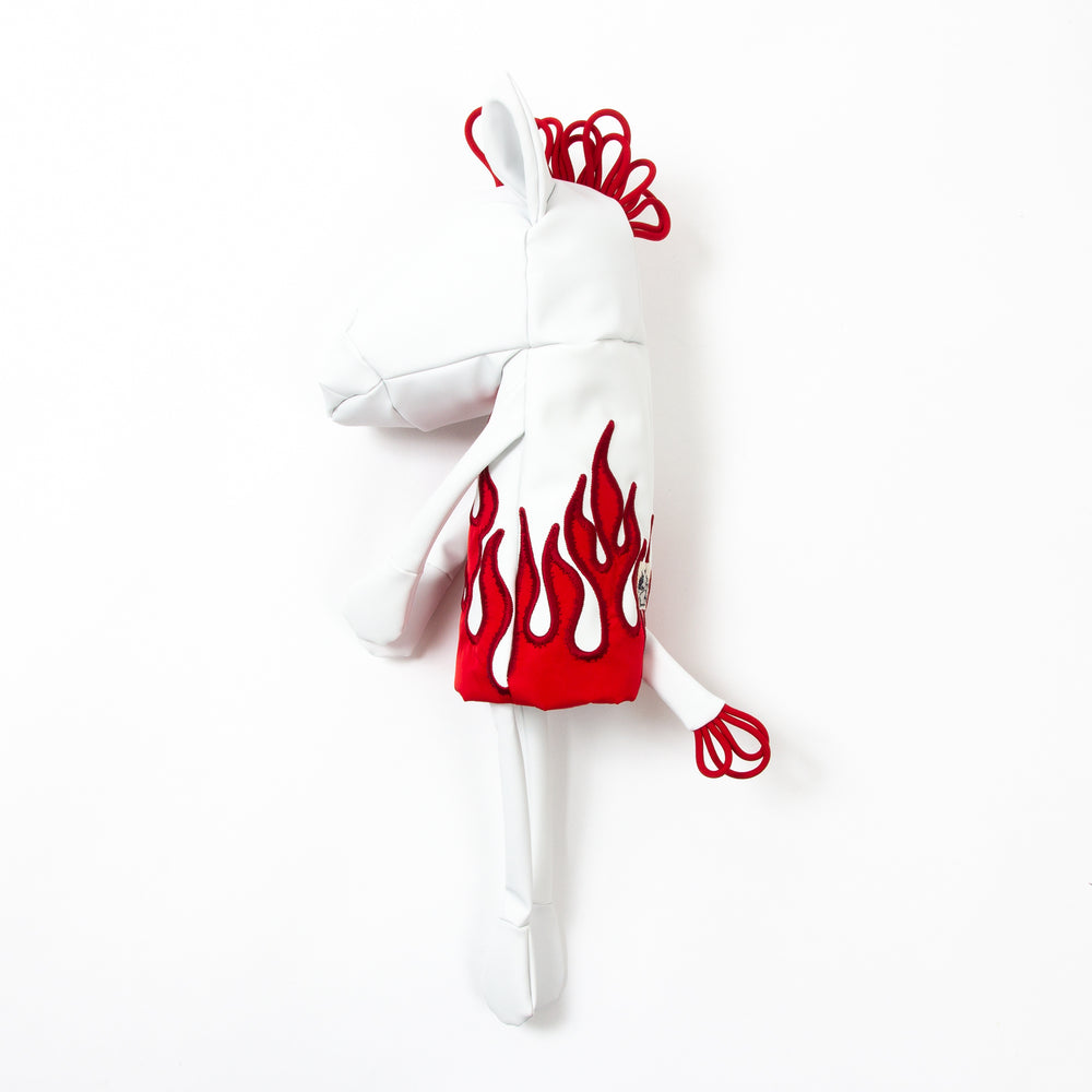 On Fire - White x Red
