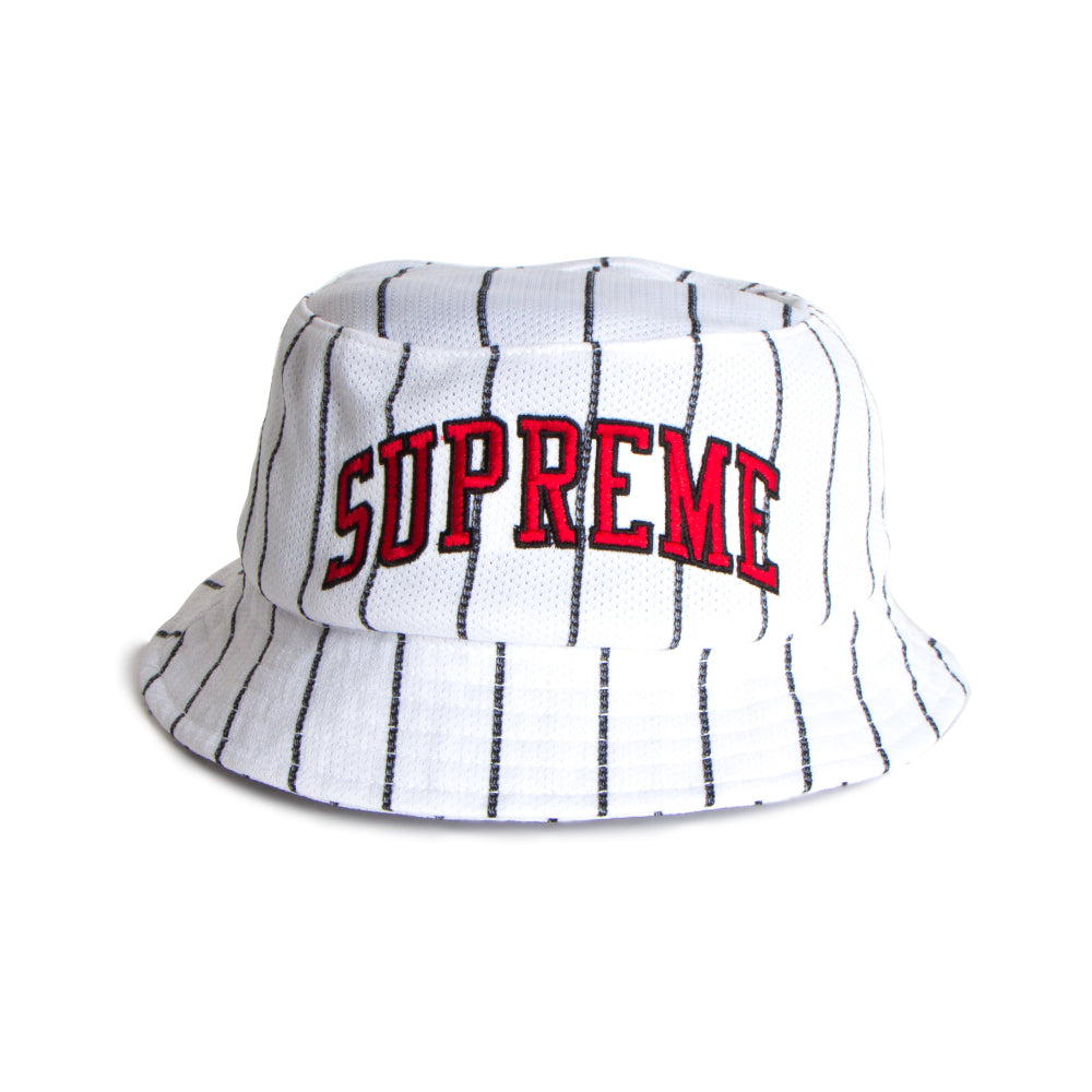 supreme stripe hat