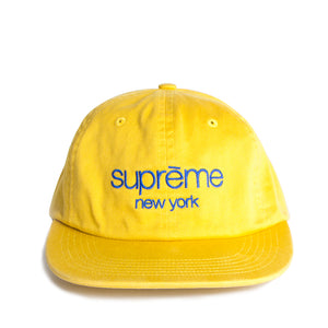 supreme yellow cap