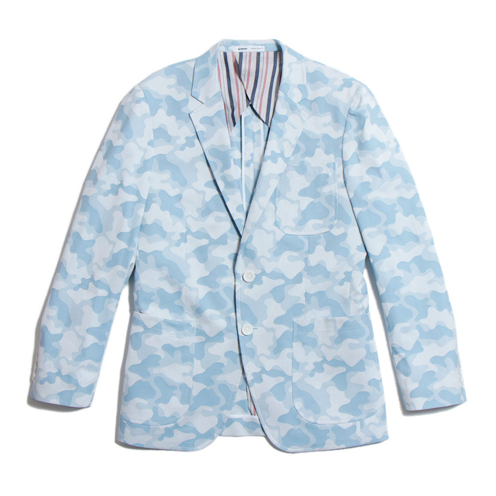 Camo Blazer Blue(40%off)