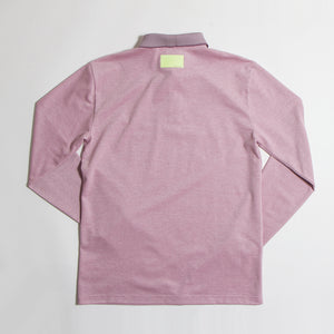 Purple Long Polo【Mのみ】(50%off)