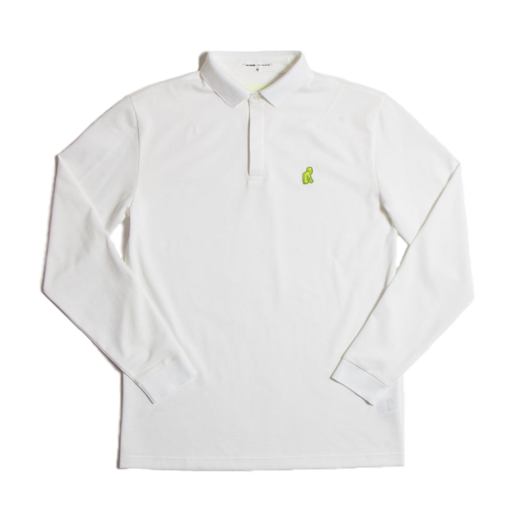 White Long Polo【M.LLのみ】(20%off)