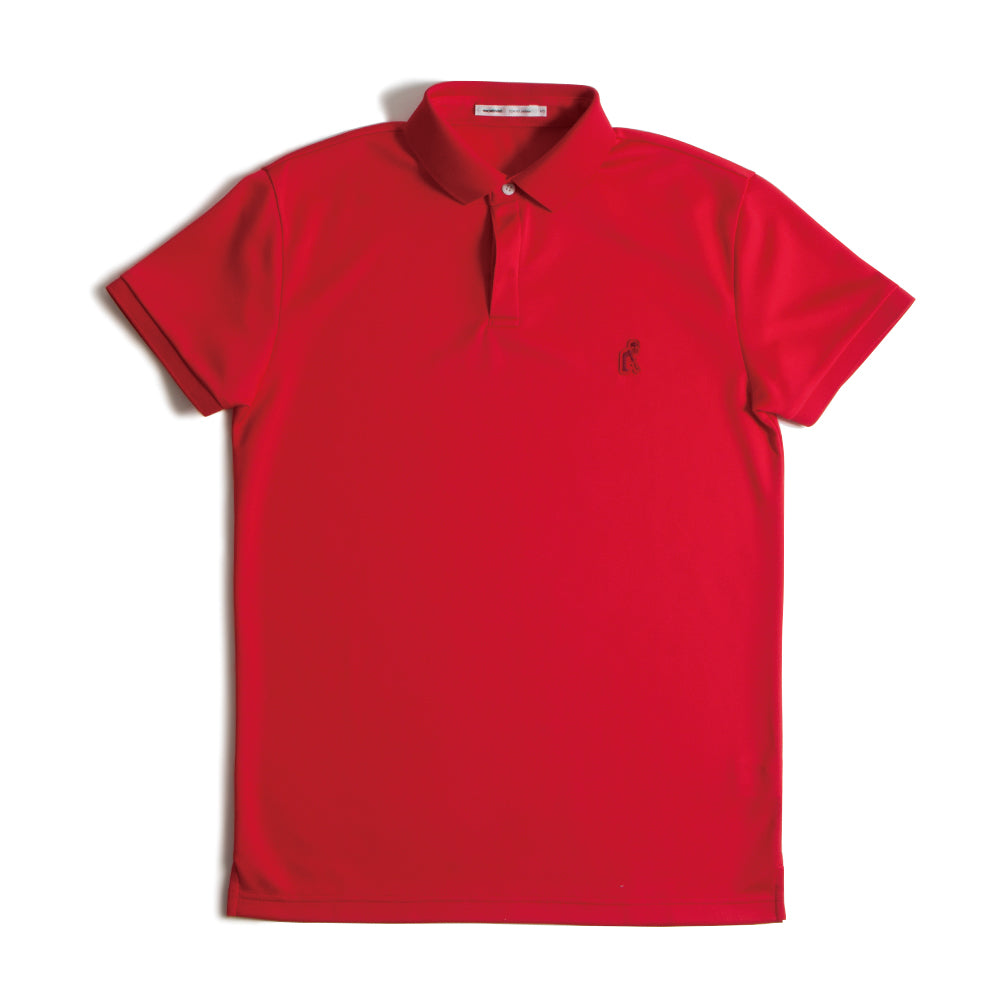 Standard Polo Red【L.LLのみ】(40%off)