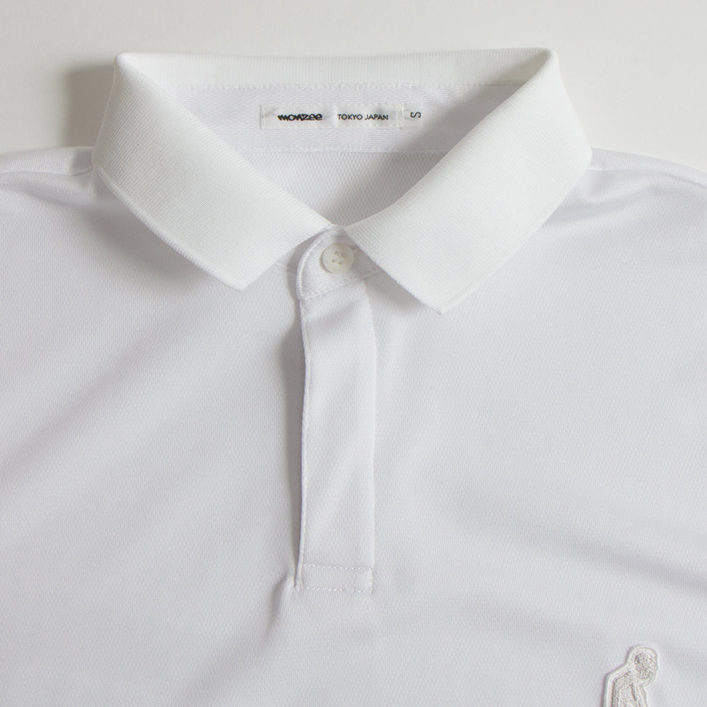 Standard Polo White【LLのみ】(40%off)