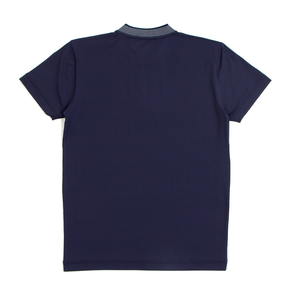 Short Collar Navy