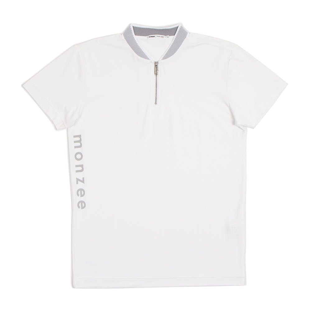 Short Collar White
