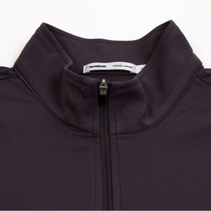 Zip-Up Long Grey