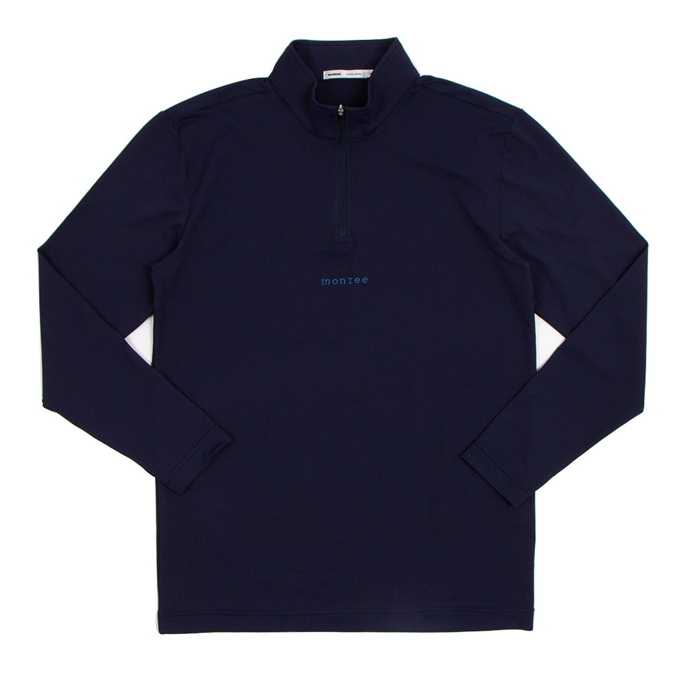 Zip-Up Long Navy