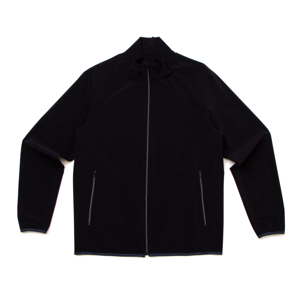 Full Zip Wind Breaker-NVY