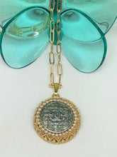 Load image into Gallery viewer, #144 Vintage Couture Necklace 28mm