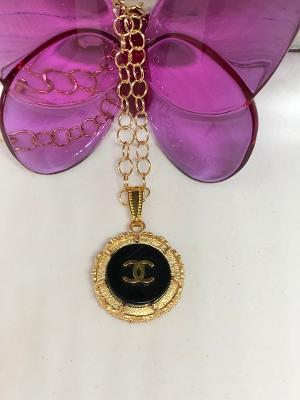 #150 Vintage Couture Necklace 23mm