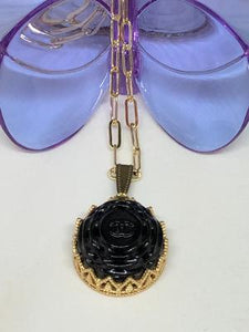 #299 Vintage Couture Necklace 23mm