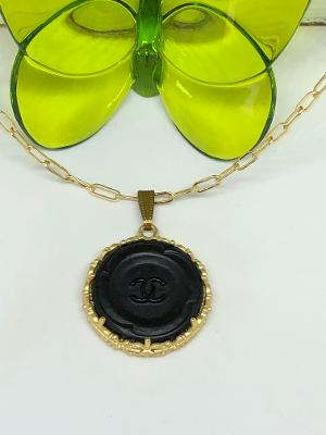 #326 Vintage Couture Necklace 30mm