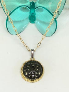 #330 Vintage Couture Necklace 28mm