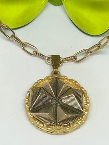 #346 Vintage Couture Necklace 30mm