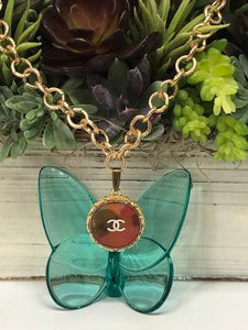 #35 Vintage Couture Necklace 28mm