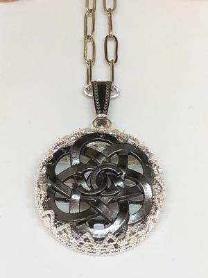 #388 Vintage Couture Necklace 27mm