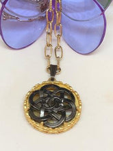 Load image into Gallery viewer, #389 Vintage Couture Necklace 32mm