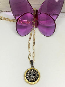 #399 Vintage Couture Necklace 23mm